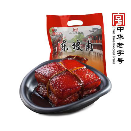 200g东坡肉